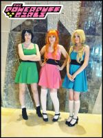 PowerPuff Girls cosplay by onlycyn