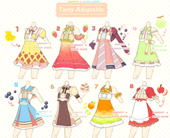 [CLOSED] Tasty Outfit Adoptable #12 by Black-Quose