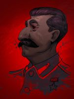 Stalin by Monkill