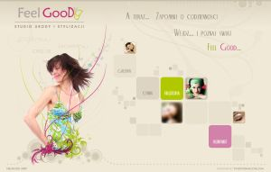 Webdesign for beauty salon by goodghost1980