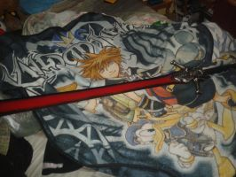 my new devil may cry rebellion sword :) by CommanderCaitlinShep