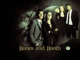 Bones and Booth by LeavesFallingUp14