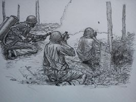 Marines sketch by NOBEEFJERKY