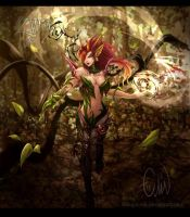 League of Legends - ZYRA by Arlequinne