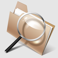 Search Files Icon by lazunov