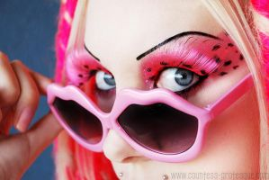 . think pink . by Countess-Grotesque