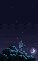 My Neighbor Totoro by bbrunomoraes