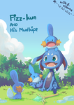 Fizz-kun And His Mudkips by Wile-Z-Kitsune