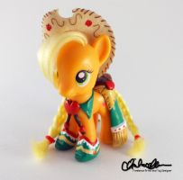Suited for Success Applejack custom MLP by thatg33kgirl