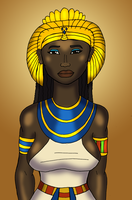 God's Wife of Amun by DaBrandonSphere
