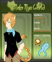 josh-ficha neko-nya-world by bachadark93
