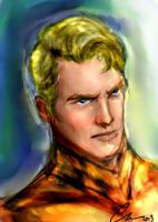 Gregory Peck as Aquaman by randomality85