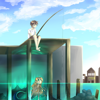 Just An Average Boring Day Fishing by WingedKcat