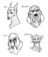 Dogs of the Inquisition by Pugletz