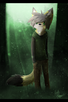 Mr. Ando of the Woods by XBlackIce