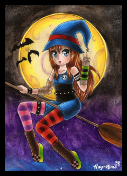 -- Halloween -- by Nay-Hime