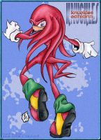 Knuckles Echidna by StephRatte