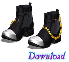 DOWNLOAD: Shoes - Boots Style 1 by InkedBunny