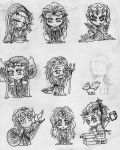 Pantheon of the Valar by hobbity-ringwraith