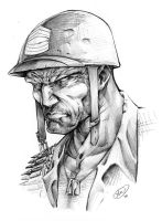 Sgt. Rock by AdamWithers