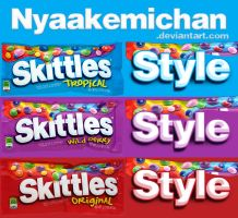 Skittles Styles by NyaAkemiChan