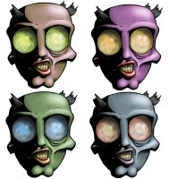 Zombie Colour Tests by AJaine