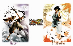 Super Street Fighter IV Wall 1 by CrossDominatriX5