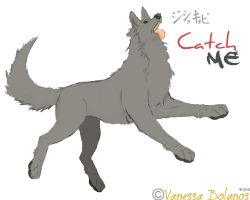 Gray Wolf: Catch Me by Youshallfearme2