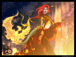 Ariel Destroyer of that World by Bryan-Lobdell