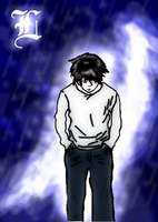 Poor digital arted L by exile-chan