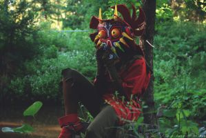 Skull Kid by HalfLightPhotography