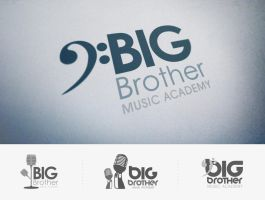 Big Brother Music Academy logo concepts by vsMJ