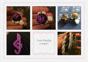 Loom Banding is magic by TheMidnightRainstorm
