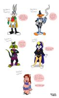 THE TOON TITANS :D by SpaceJunkE