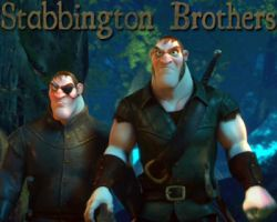 Disney's Tangled Stabbington Brothers art by cdpetee