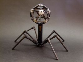 Bacteriophage by Djokson