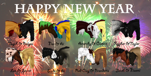 HAPPY NEW YEAR by BrindleTail