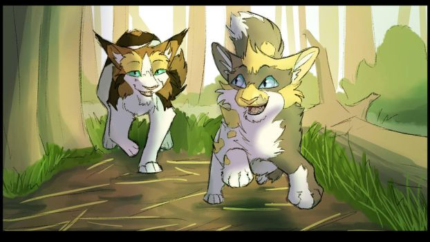 1. Patchpaw -Race you to the Lake! by Simatra