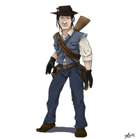 John from Red Dead Redemption by jcnorn