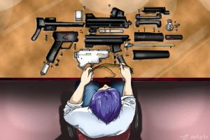 Gun Disassembly by ravenwing136