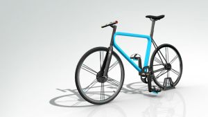 Bicycle prototype in 3D by DrawingArtist3D