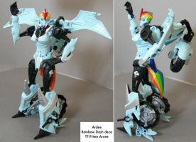Kitbash: Ardee robot mode 1 by dvandom
