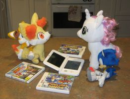 Playing Sonic 3DS Games by CheerBearsFan