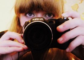 Myself and my new camera. by Nerina-Nerina