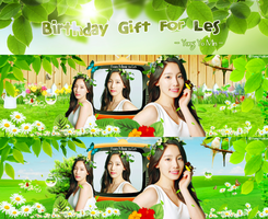 [My Third Pack] Birthday Gift For Les by YongYoMin