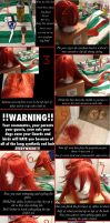 Grell Wig Tutorial - Black Butler by AurealLordMezria