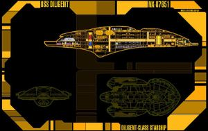 LCARS 5.0-DILIGENT-MSD-01 by GhostRider2007