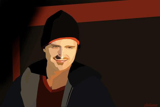 Aaron Paul by philiater