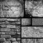 7 hi res background brushes by t0ast92