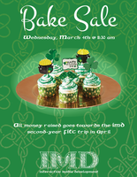 [Graphics] IMD Bake Sale Poster by RicePoison